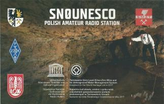 3. Okolicznościowa karta QSL SN0UNESCO (2018 r.)