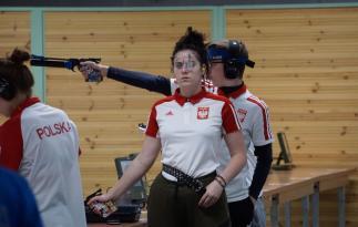 Zuzanna Pierko na strzelnicy