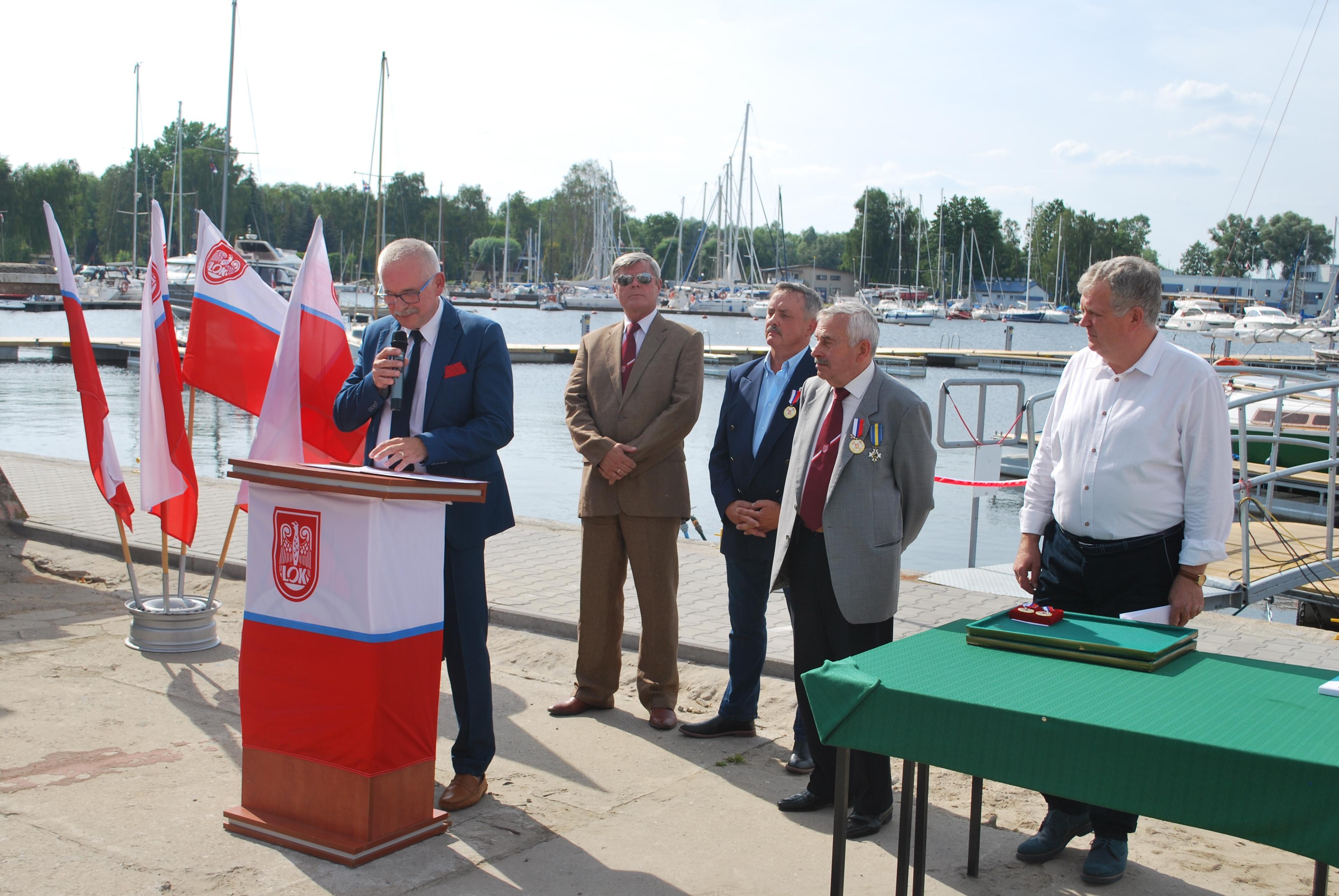 75-lecie ZOW LOK i otwarcie mariny
