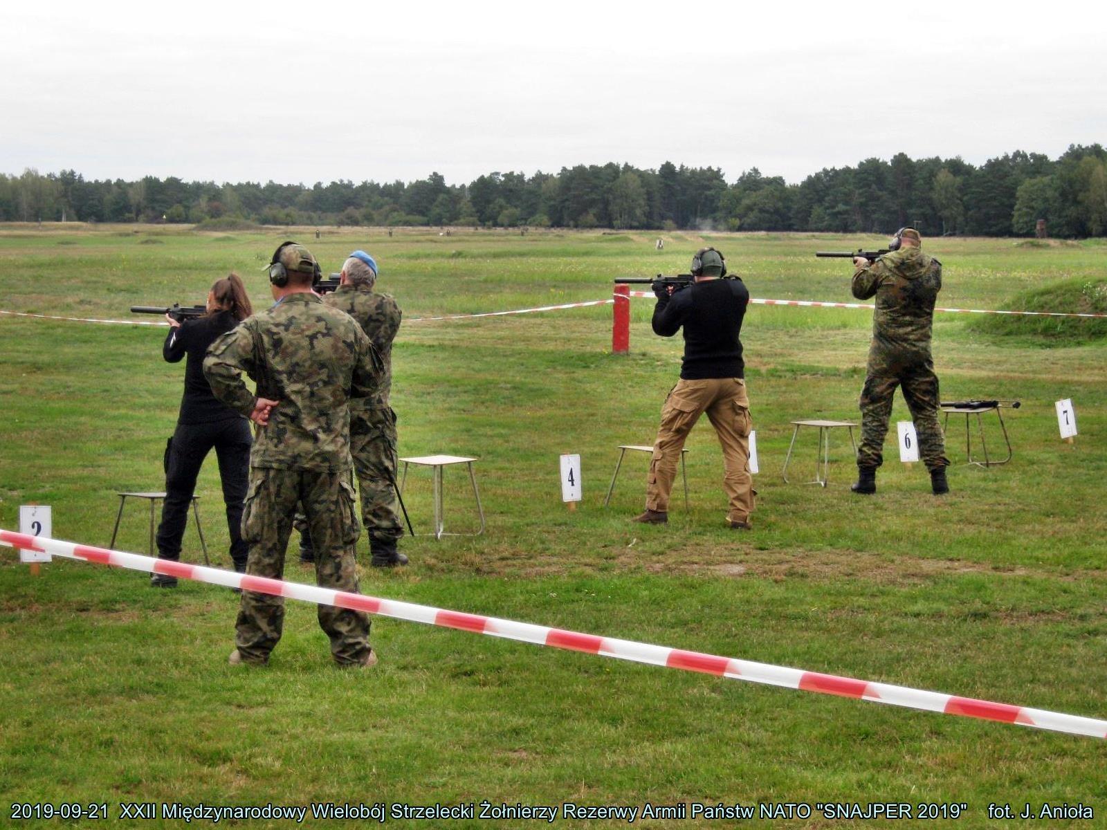 XXII Międzynarodowy Wielobój  Strzelecki Żołnierzy Rezerwy
