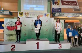 Złoty medal Jolanty Tabaki