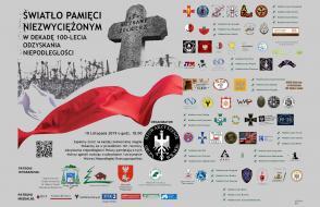Światło Pamięci Niezwyciężonym - plakat
